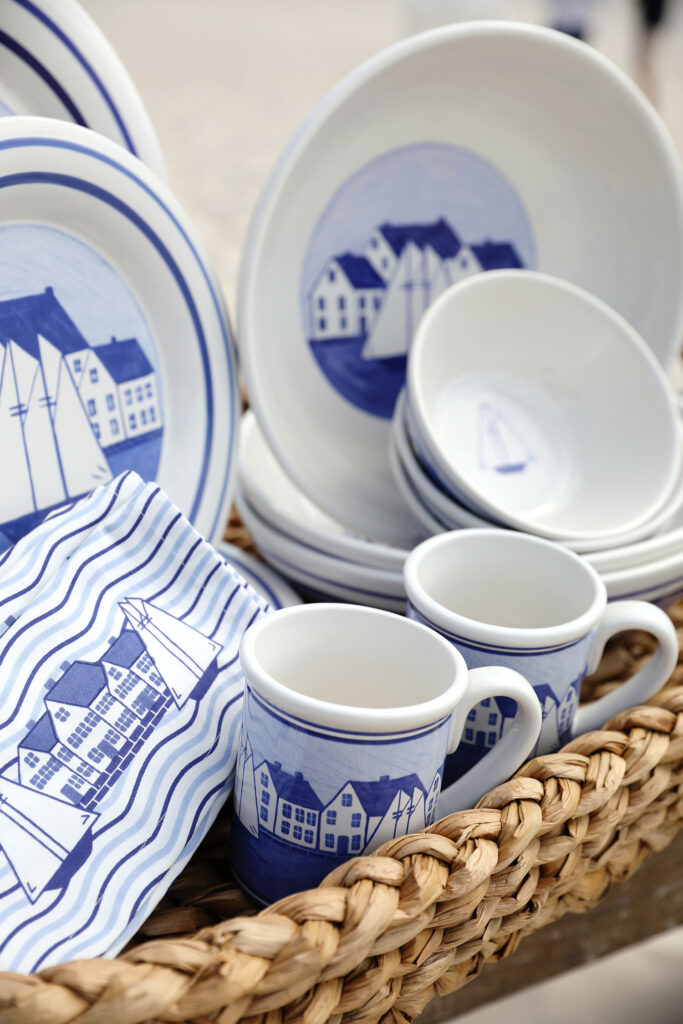 photo of a collection of products from the coastal village set
